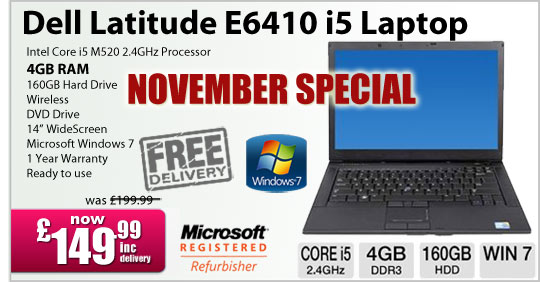 Special Refurbished Laptop Deal