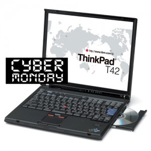 IBM Thinkpad T42 Laptop with Windows 7