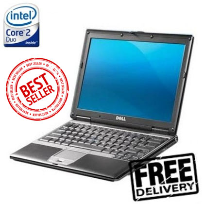 Dell D420 Laptop, Netbook Ultra Portable, 60GB Harddrive, Wireless, Windows 7