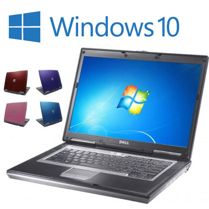 Cheap Coloured Widescreen Laptop, Windows 10, 2GB Memory, 80GB HDD