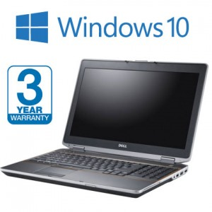 Dell Latitude E6420 3 Year Warranty, with Windows 10,  8GB Memory, 240GB SSD, i5 Laptop