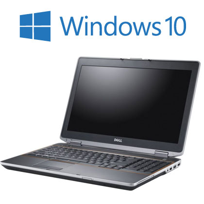 Dell Latitude E6420 Widescreen with Windows 10,  4GB Memory, 250GB , i5 Laptop