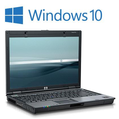 HP Compaq 6910p Windows 10 Laptop, 2GB, Wireless, DVD
