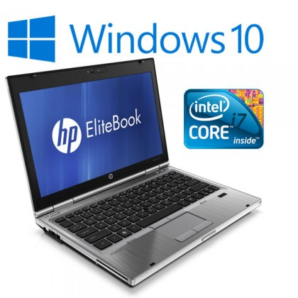 HP Elitebook 2560p i7 Laptop, 4GB Memory, Widescreen, Wireless, 1 Year Warranty