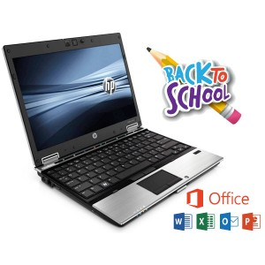 HP Elitebook 2540p Laptop Core i5-M540 , 4GB RAM, 160GB HDD WINDOWS 10 Microsoft Office Warranty