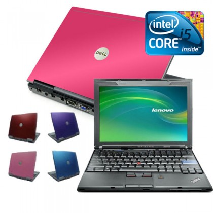 Coloured Cheap i5 8gb, 1TB Widescreen Laptop, Red, Pink, Purple or Blue
