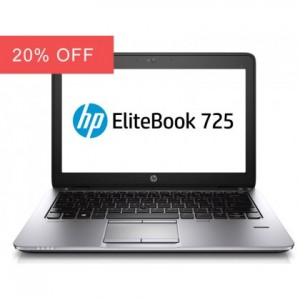 HP EliteBook 725 G2 Laptop Quad Core 500GB HDD Warranty Windows 10
