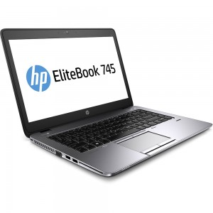 HP EliteBook 745 G2 Laptop Quad Core 1.9GHz 128GB SSD HDD Warranty Windows 10