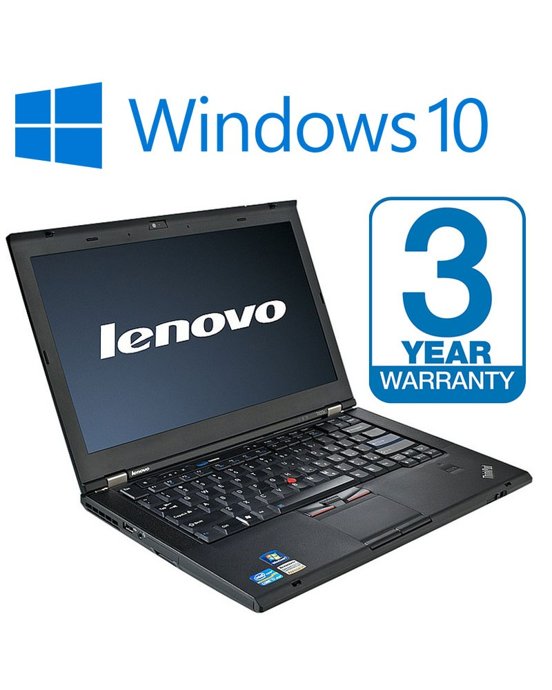 lenovo thinkpad t410 laptop 3 year warranty 8gb memory 500gb hdd dvd