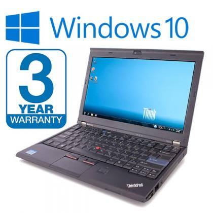 Lenovo Thinkpad X220 Laptop i5 2.60GHz 2nd Gen 8GB RAM, 250GB SSD HDD, 3 Year Warranty Windows 10 Webcam