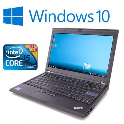 Lenovo Thinkpad X220 Laptop i7 2.60GHz 2nd Gen 4GB RAM Warranty Windows 10 Webcam