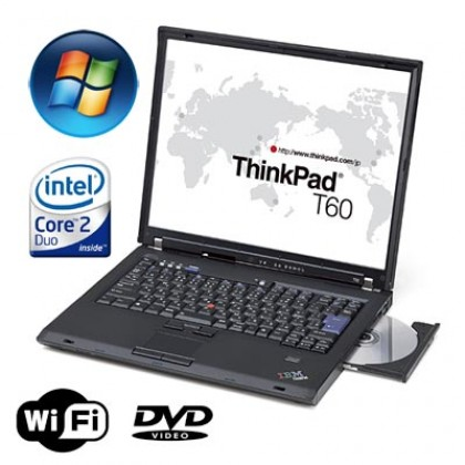 Ibm Lenovo Thinkpad T60 Laptop 4GB