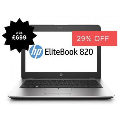 HP Elitebook 820 G1 Laptop Core i5-4300U 4th Gen 500GB Warranty Windows 10