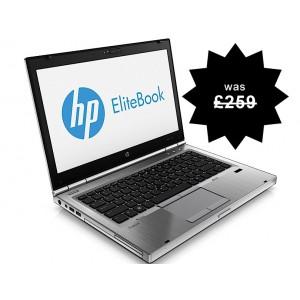 HP Elitebook 8470p, i5 Laptop,  4GB Memory, 320GB HDD, Wireless, Warranty