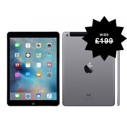 Apple iPad 2 16GB Refurbished WiFi Space Grey 1st Generation Warranty