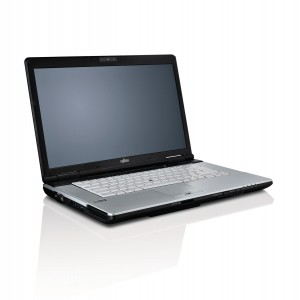 Fujitsu LifeBook S751 Widescreen laptop with Windows 10,  4GB Memory, 500GB