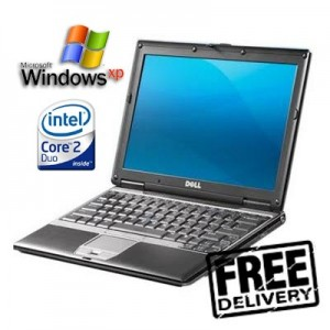 Dell Latitude D420 Laptop Netbook, Wireless, Windows 7