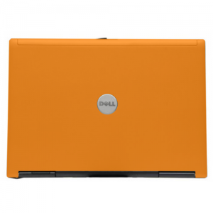 Orange Dell Latitude D620 Laptop