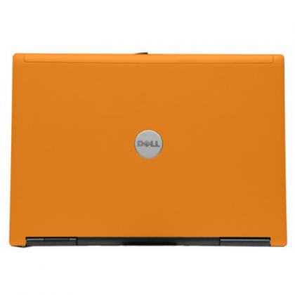 Orange Dell Latitude D620 Laptop
