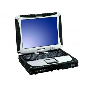 Panasonic Toughbook CF-19 Laptop, 8GB RAM, 1TB HardDrive, Intel i5, Serial, Wireless