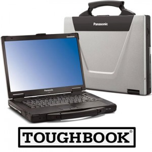 Panasonic Toughbook CF-52 Laptop, 8GB RAM, 1TB HardDrive, Intel i5, Serial, Wireless