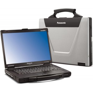 Panasonic Toughbook CF-52 Laptop, 4GB RAM, Intel i5, Serial, Wireless
