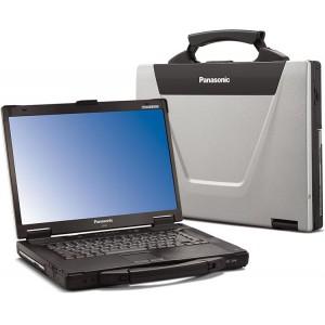 Panasonic Toughbook CF-52 Laptop, 4GB RAM, Intel, Serial, Wireless