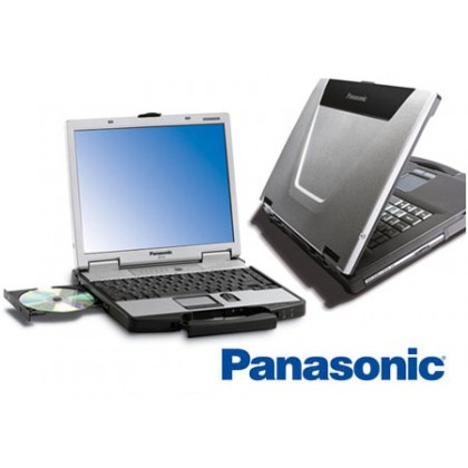 Panasonic Toughbook CF-52 Laptop, Rugged, 4GB RAM, Intel Core 2 Duo, Serial, Wireless, Windows 7